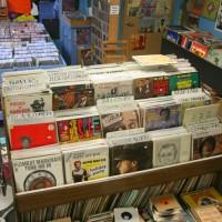 Mystery Train Records Album Rack