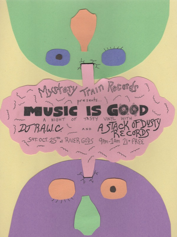 Mystery Train DJ Night - October 25, 2014
