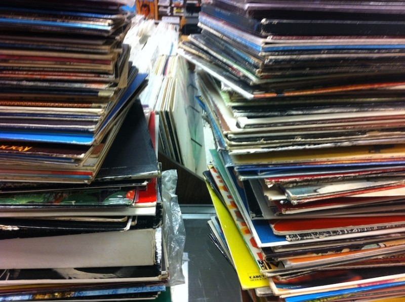 Stacks Waiting To Be Filed
