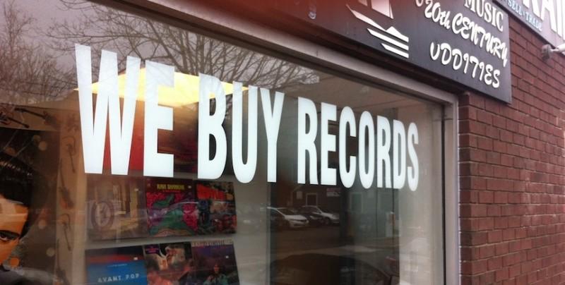 We Buy Records!