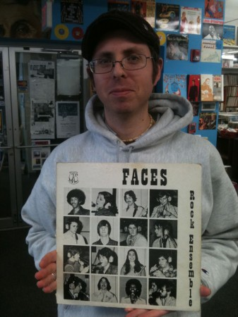 Tim at Mystery Train Records