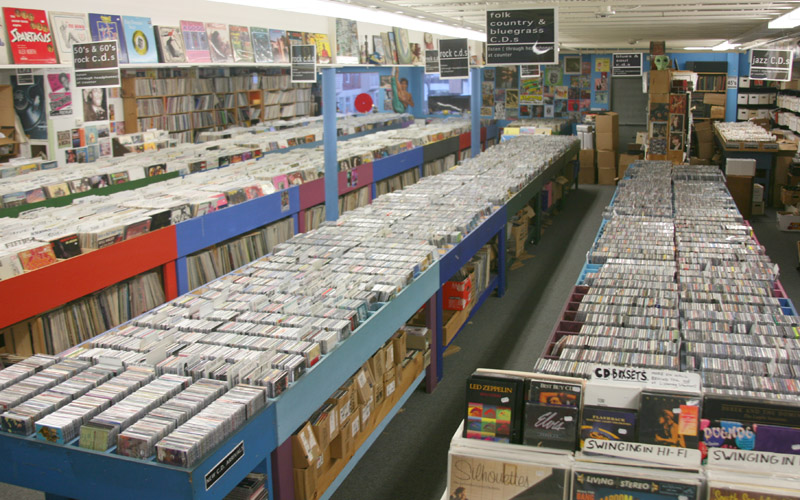 Mystery Train Records - CDs