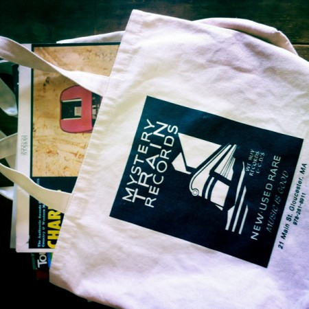 Mystery Train Records Tote Bags